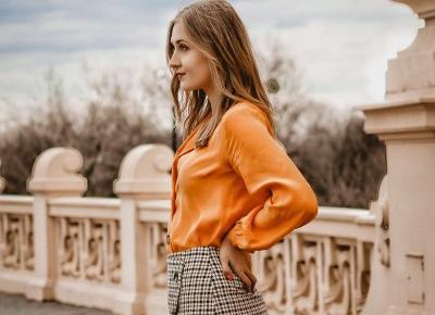 Przywołuję wiosnę | stylizacja z żółtą koszulą | vanilliowynotes.pl |