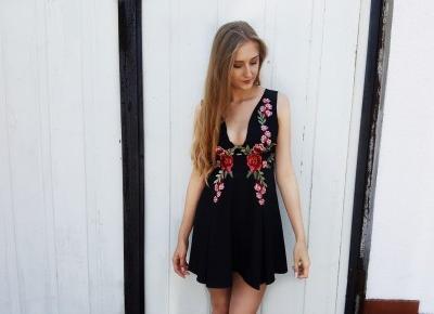 Czarna sukienka na ślub ? | Vanillia