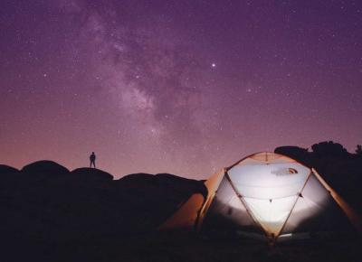 Jak się wyspać pod namiotem?