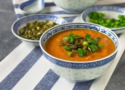 Aksamitny krem z batatów | Vegan Taste