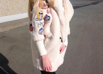 Wiosenny outfit: płaszcz z naszywkami i spodnie z wysokim stanem | Zaful & Sammydress ♡ - Verczik Blog by Veronica Masajada