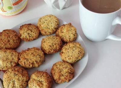 Verczik Blog by Veronica Masajada: fit kokosowo-jaglane ciasteczka z chia