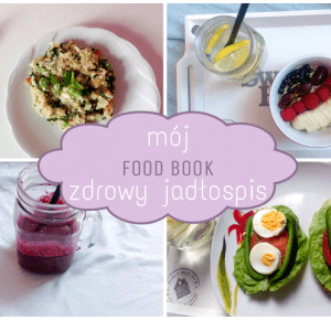 Food book: Co jem wciągu dnia - zdrowy jadłospis | What I eat during the day - healthy menu ♡