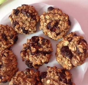 Verczik Blog: ♡ Zdrowe owsiane ciasteczka | Bez cukru i mąki ♡
