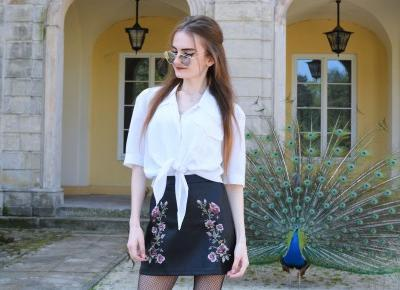 Veronica Lucy: EMBROIDERED SKIRT