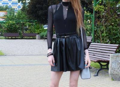 Veronica Lucy: BLACK BODYSUIT | YOINS
