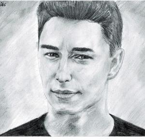 DRAWING OF MARCIN DUBIEL