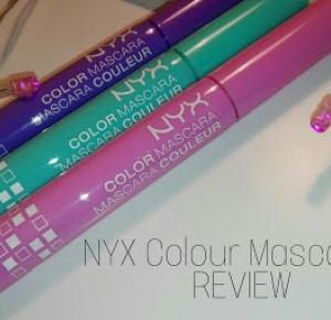 NYX colour mascaras REVIEW - Milk & Honey