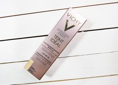 VEXGIRL - makeup & beauty blog by Arleta O.: VICHY - TEINT IDÉAL - ROZŚWIETLAJĄCY PODKŁAD W KREMIE