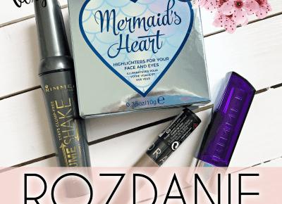 Konkurs! Wygraj zestaw kosmetyków! | VEXGIRL - beauty and lifestyle blog