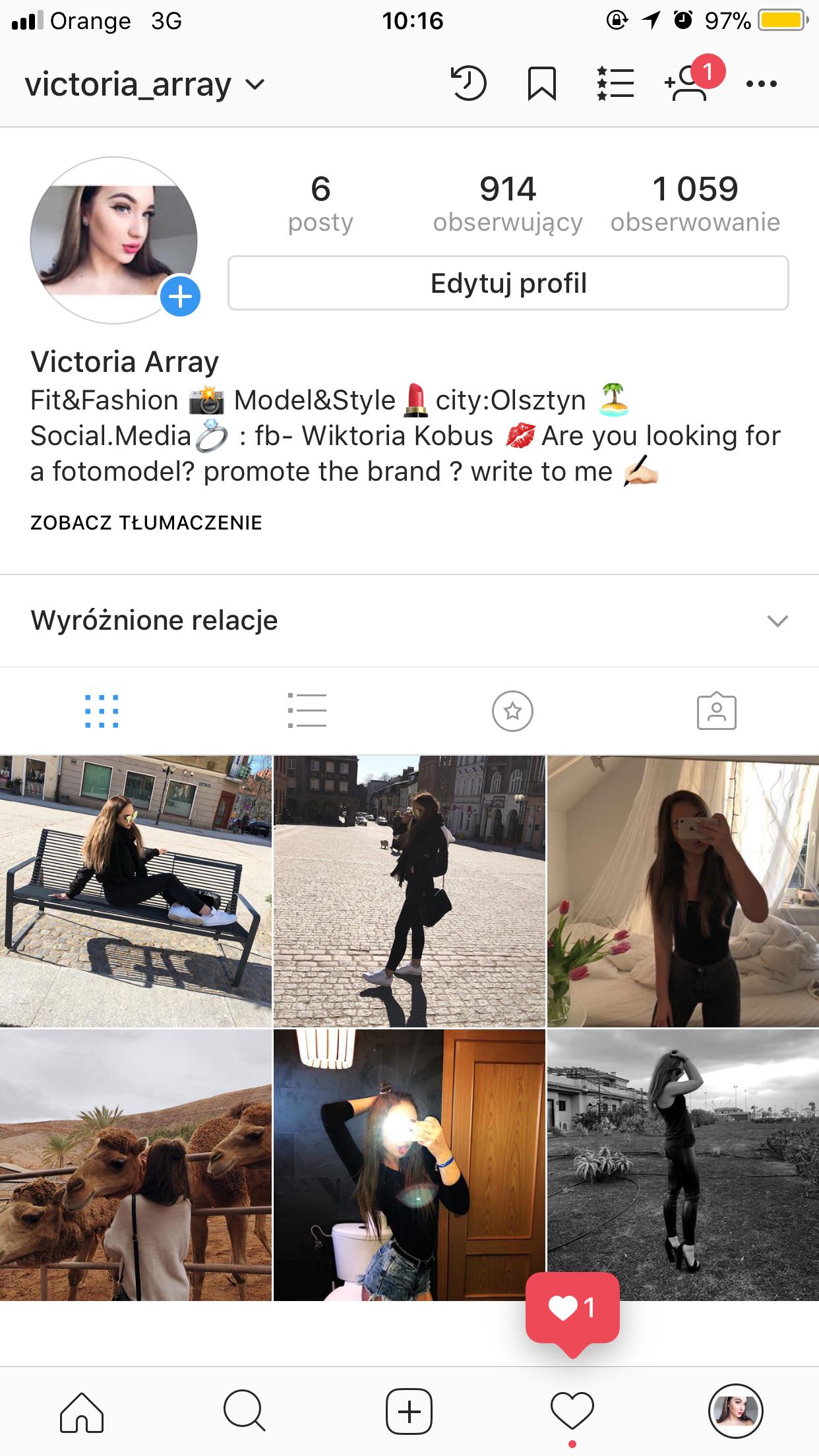 Mój instagram ❤️