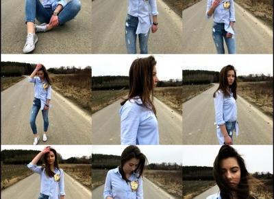 #11 Niebieska koszula - Victoriadoublefour