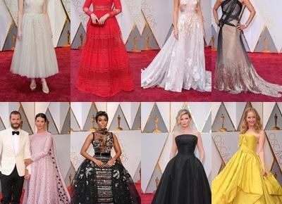 #12 Oscary 2017 - Najpiękniejsze kreacje  - Victoriadoublefour