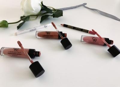 #13 Longstay Liquid Matte Lipstick- Golden Rose - Victoriadoublefour