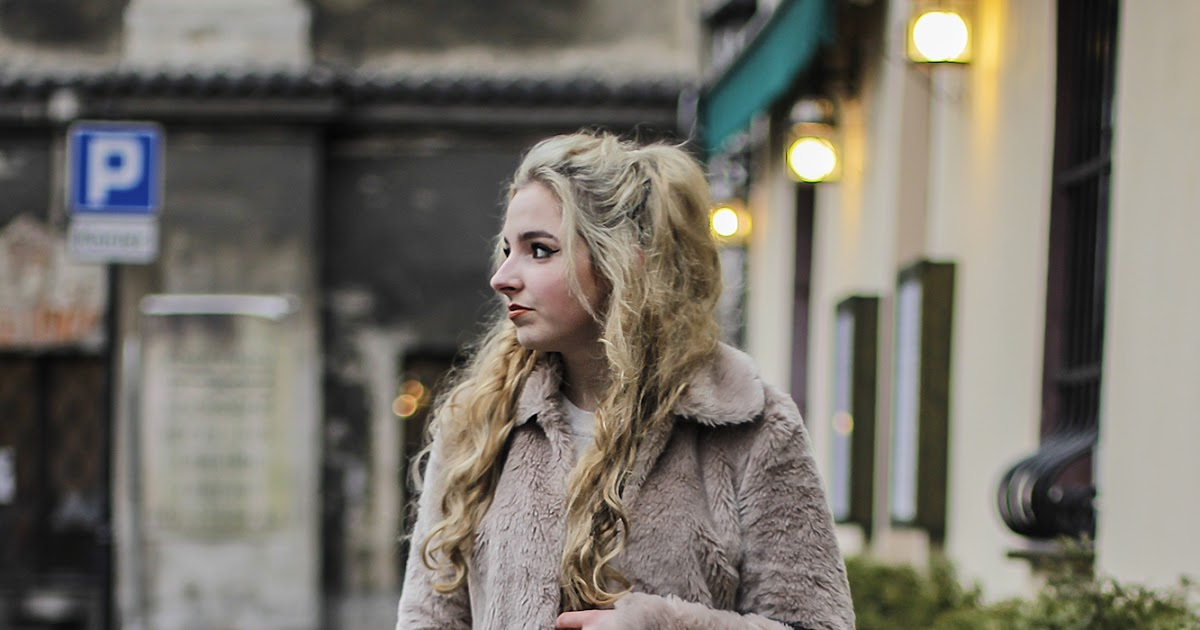 Take-My-Style Wiktoria Gruca: Brown fur - street style!