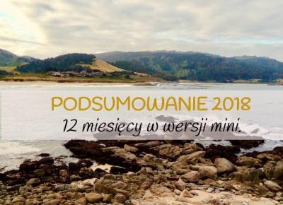 Podsumowanie 2018 roku. 12 miesięcy w wersji mini. | Traviollini