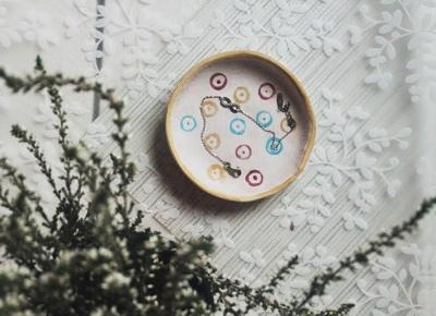 ważkowa: Gliniana miseczka na biżuterię