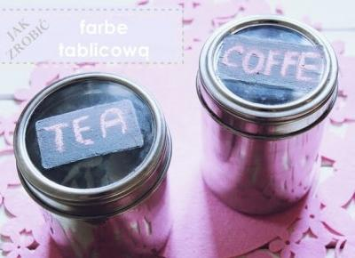 ważkowa: Jak zrobić farbe tablicową