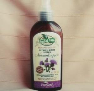 Ważkowa : odżywka w sprayu normalizująca z serii Herbal Care