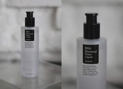 COSRX BHA Blackhead Power Liquid Preparat złuszczający z naturalnymi kwasami BHA / opinia — wee•mini