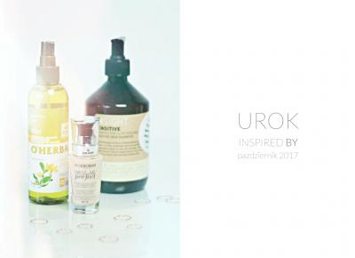 U.R.O.K INSPIREDBY EDYCJA XVIII / Październik 2017 - wee mini / blog kosmetyczny / blog o urodzie