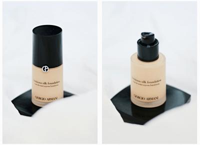 Giorgio Armani Luminous Silk Foundation / moja opinia - wee mini / blog kosmetyczny / blog o urodzie