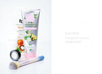 THE BEAUTY JUNGLE / SHINYBOX SIERPIEŃ 2017 - wee mini / blog kosmetyczny / blog o urodzie