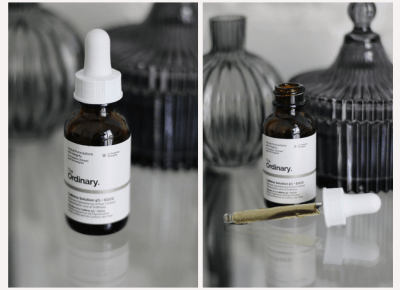 The Ordinary Caffeine Solution 5% + EGCG / Serum pod oczy z kofeiną i zieloną herbatą — wee•mini