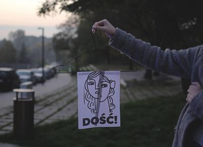 Czarne Światło: [Fotorelacja] Strajk Kobiet || Sochaczew