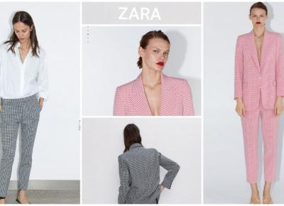 Modny garnitur z Zary w promocyjnej cenie!