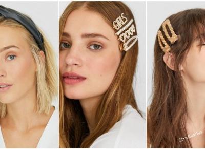 Zapomnij o nudnej fryzurze - ozdoby do włosów podbijają serca trendsetterek