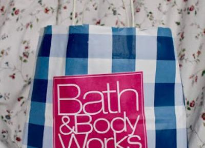 HUGE HAUL FROM BATH AND BODY WORKS  ~ small pinch of happiness