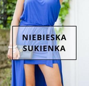 Niebieska sukienka – Świat wybiegiem