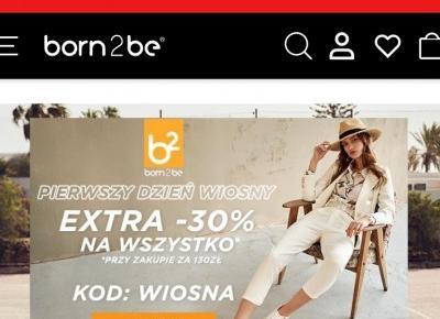 Born2be - Sklep internetowy: Odzież i obuwie