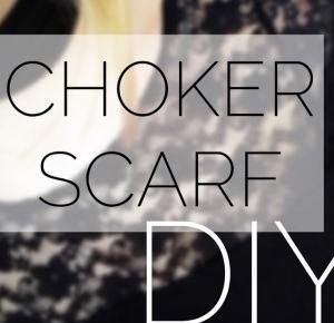DIY - SCARF CHOKER | mermaido