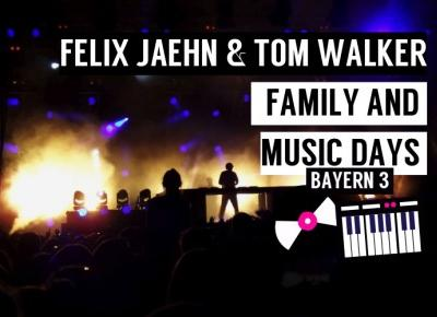 Felix Jaehn & Tom Walker - Family and music days airport Munich