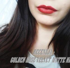 RECENZJA : GOLDEN ROSE VELVET MATTE NR 18