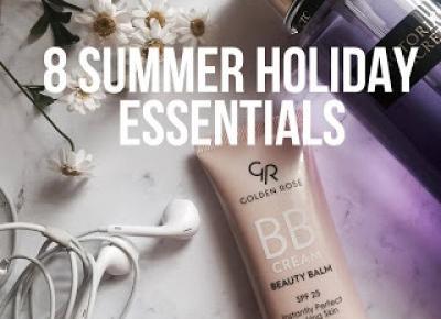 8 summer holiday essentials - whole carole