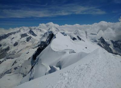 W podróży do chmur : Alpejska wyprawa - dzień 5. Breithorn i Schronisko Ayas
