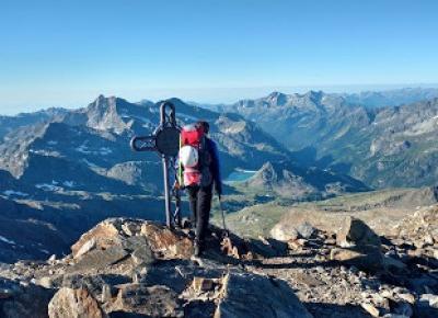W podróży do chmur : Alpejska Wyprawa na Masyw Monte Rosa 2017 - Dzień 6. Capanna Gnifetti - Alagna