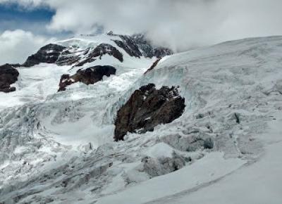 W podróży do chmur : Alpejska Wyprawa na Masyw Monte Rosa 2017 - Dzień 3 (aklimatyzacyjny). Rifugio Città di Mantova - Capanna Gnifetti