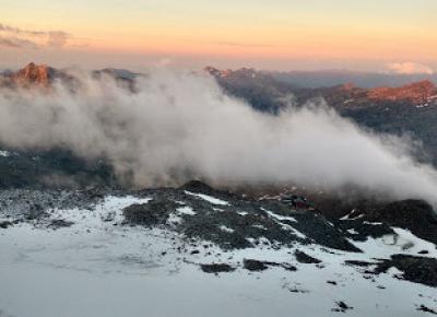 W podróży do chmur : Alpejska Wyprawa na Masyw Monte Rosa 2017 - Dzień 4. Ludwigshöhe, Balmenhorn