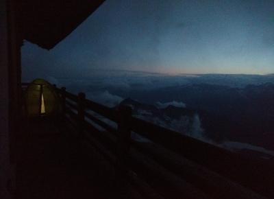 W podróży do chmur : Alpejska wyprawa - dzień 4. Biwak pod Cervino