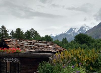 W podróży do chmur : Alpejska wyprawa - dzień 3. Zermatt - Schronisko Gandegghütte