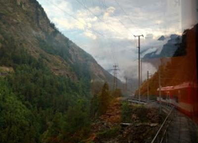 W podróży do chmur : Alpejska wyprawa - dzień 2. Berno-Visp-Zermatt