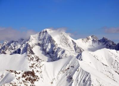 W podróży do chmur : Początki wyprawy na Alpejskie czterotysięczniki