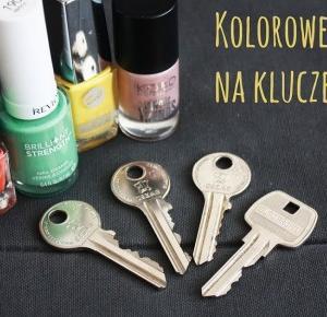 DIY - kolorowe nakładki na klucze