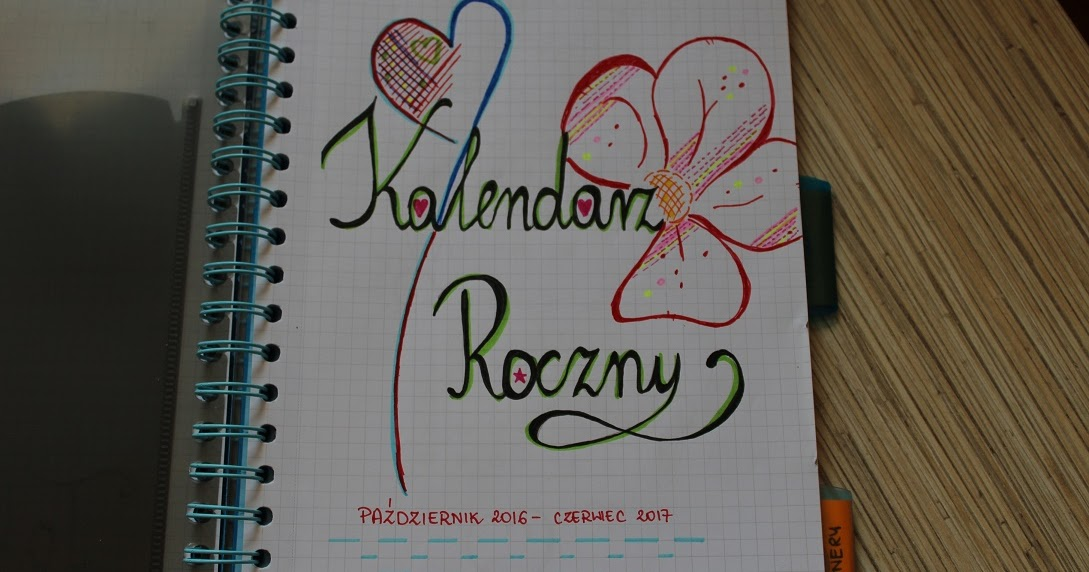 DIY #3 - Organizer, planer, kalendarz