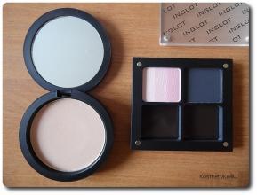 Inglot cienie, puder i tusz - makijażowy haul zakupowy | Kosmetyka 4 U