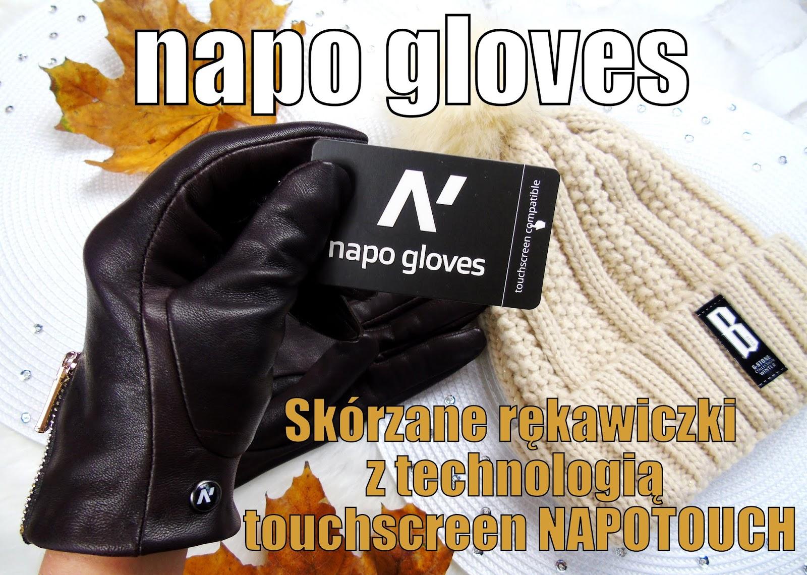 Blog testerski: napo gloves - ekskluzywne rękawiczki skórzane, kompatybilne z dotykowymi urządzeniami mobilnymi